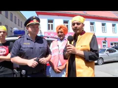 Polizist (Punjabi, German) Q&A 29.05.2016 Nager Kirtan Vienna, Austria - Hardeep Singh Mann
