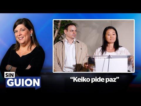 Keiko tendría que pedir disculpas por sus acciones a todo el Perú - SIN GUION con RMP