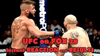 UFC on FOX 28: Reaction and Results