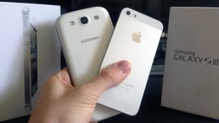 apple iphone 5 vs samsung galaxy s3 in depth review