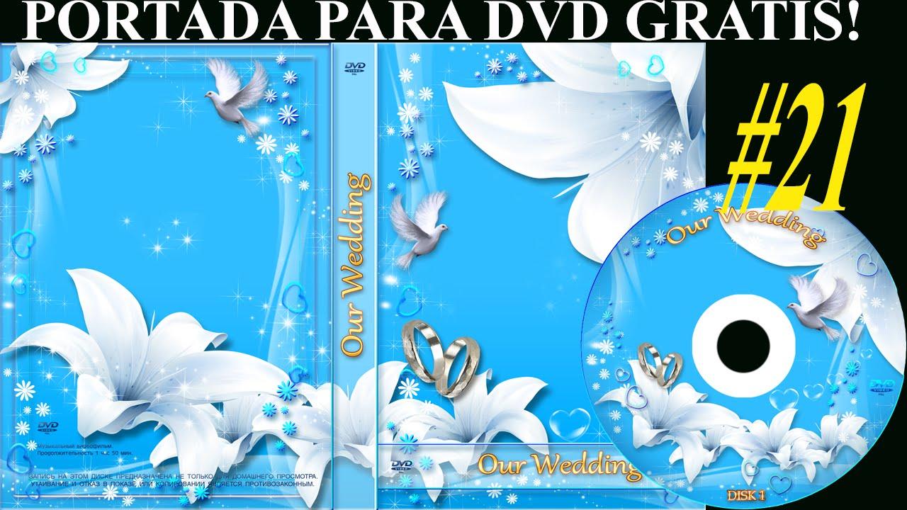 Plantillas psd para crear portada y etiqueta DVD - MATRIMONIO ...