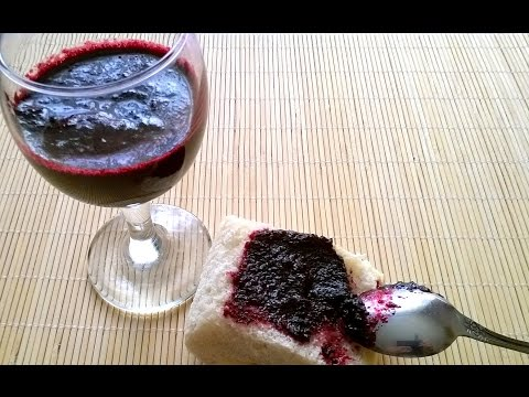 Черноплодная рябина АРОНИЯ  протёртая с сахаром рецепт полезное лакомство