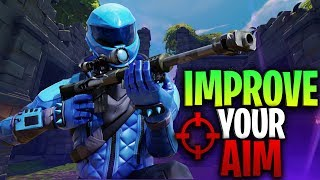 How to improve your aim in Fortnite! (No Kovaak's?)