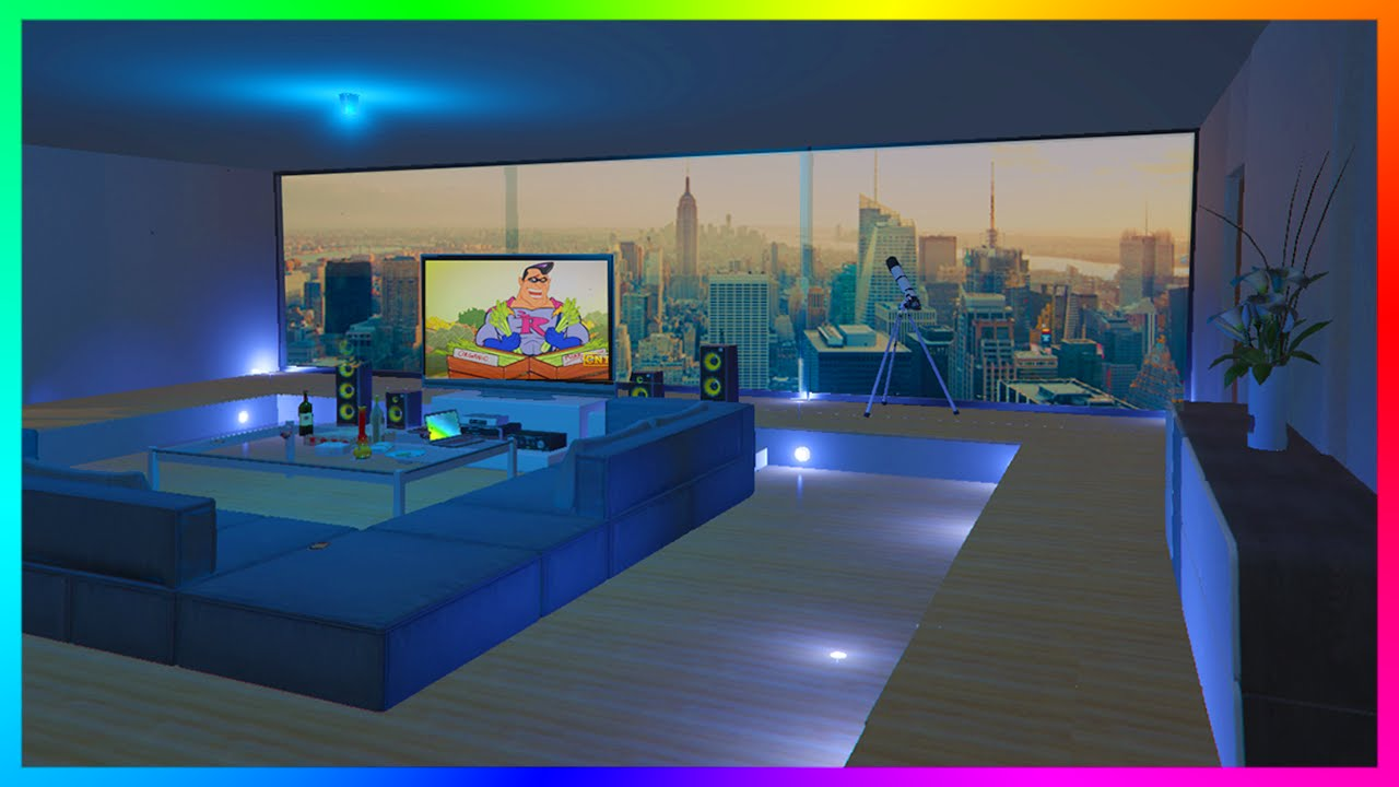 AMAZING GTA 5 Custom Penthouse Apartments & Ultimate House ...