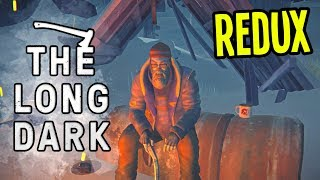 CLIMBING OUT of MOUNTAIN TOWN - The Long Dark Wintermute REDUX Gameplay - Episode 10