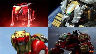 Power Rangers summon the Neo-Saban Lion Zords | Samurai, Super Megaforce, and Ninja Steel