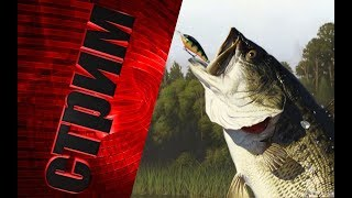 Русская Рыбалка 4--Сериальная рыбалка) Ловим Осетра!!!