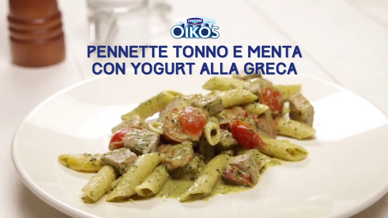 Favorito Oikos Ricette - Pennette Tonno e Menta con yogurt alla greca - YouTube YV58