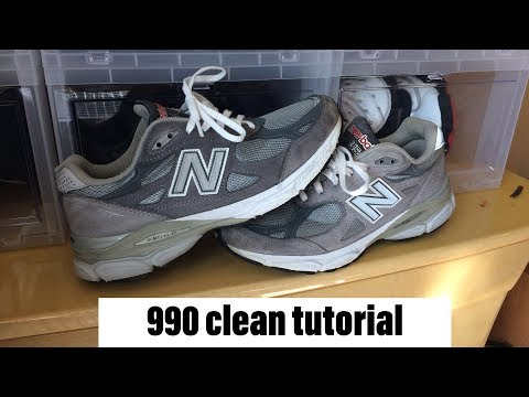 New balance 990 Cleaning