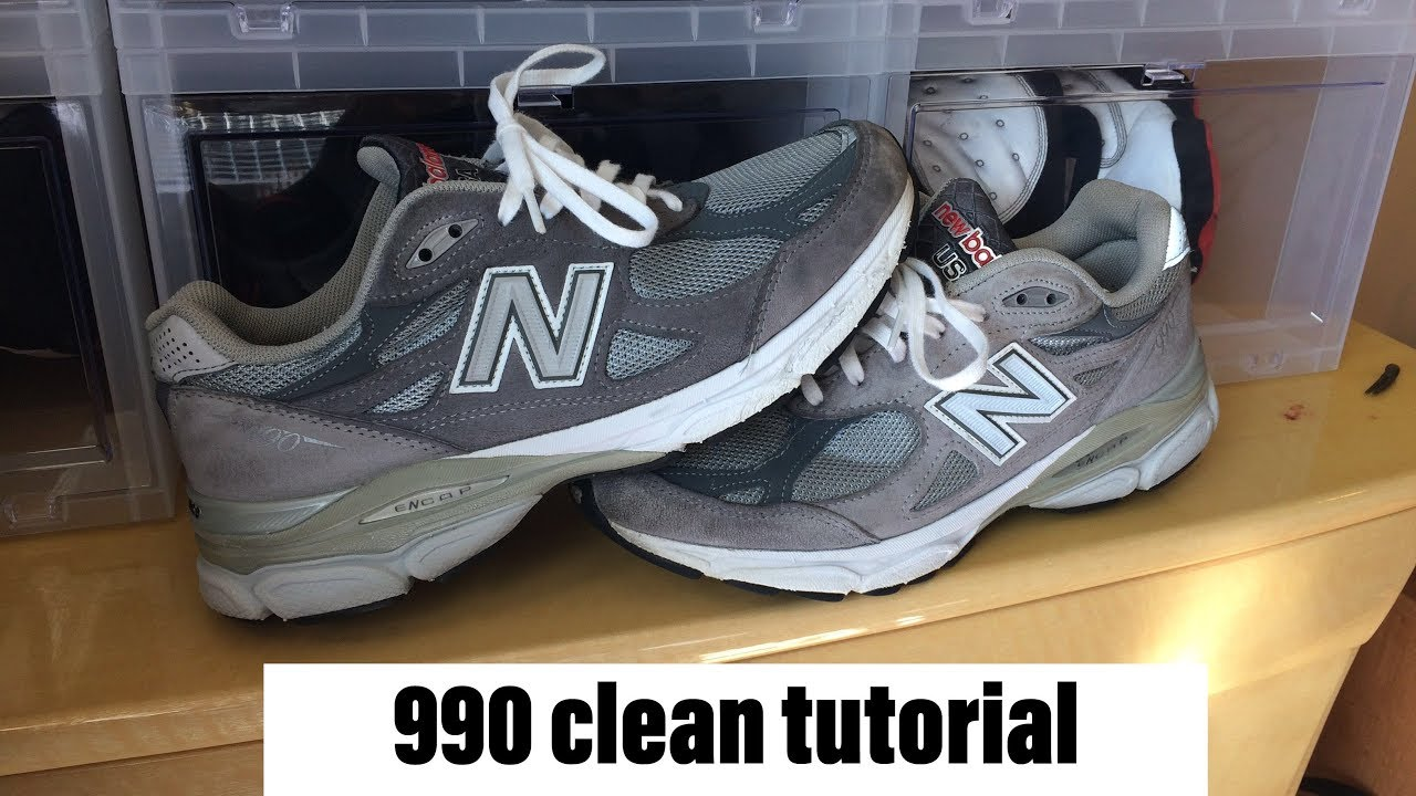 cheap for discount dc93c 8b602 New balance 990 Cleaning