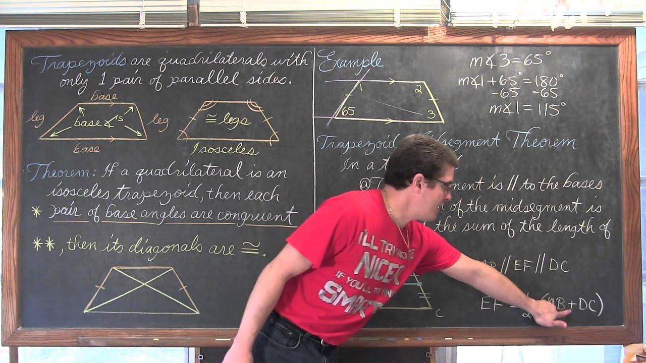 Properties Of T Zoids Amp Mid Segment Theorem