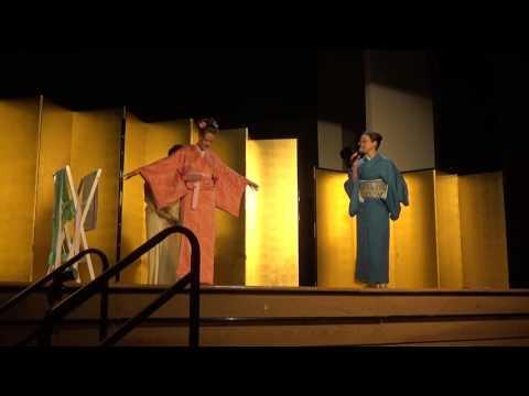 Kimono Show 2016 at Nikkei Cultrual Centre: Kitsuke Fitting Demonstration