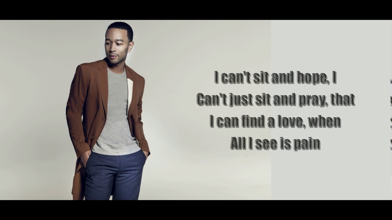 Download #CantJustPreach #VEVO John Legend - Preach (Official Lyrics Video)