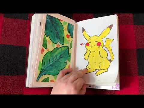 Summer Sketchbook Tour