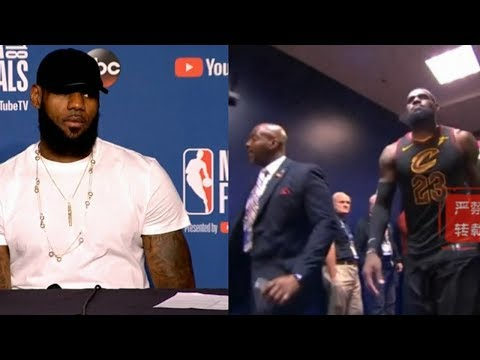 LeBron James Decided To Leave The Cavs After Getting Swept :I' VE Never Been So Heartbroken Before !