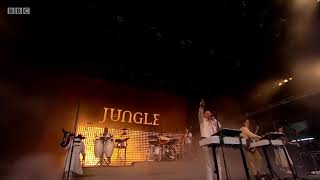 Jungle performs 'Busy Earnin'   Glastonbury 2019