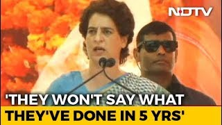 Election 2019: BJP Obsessed With My Family, Says Priyanka Gandhi