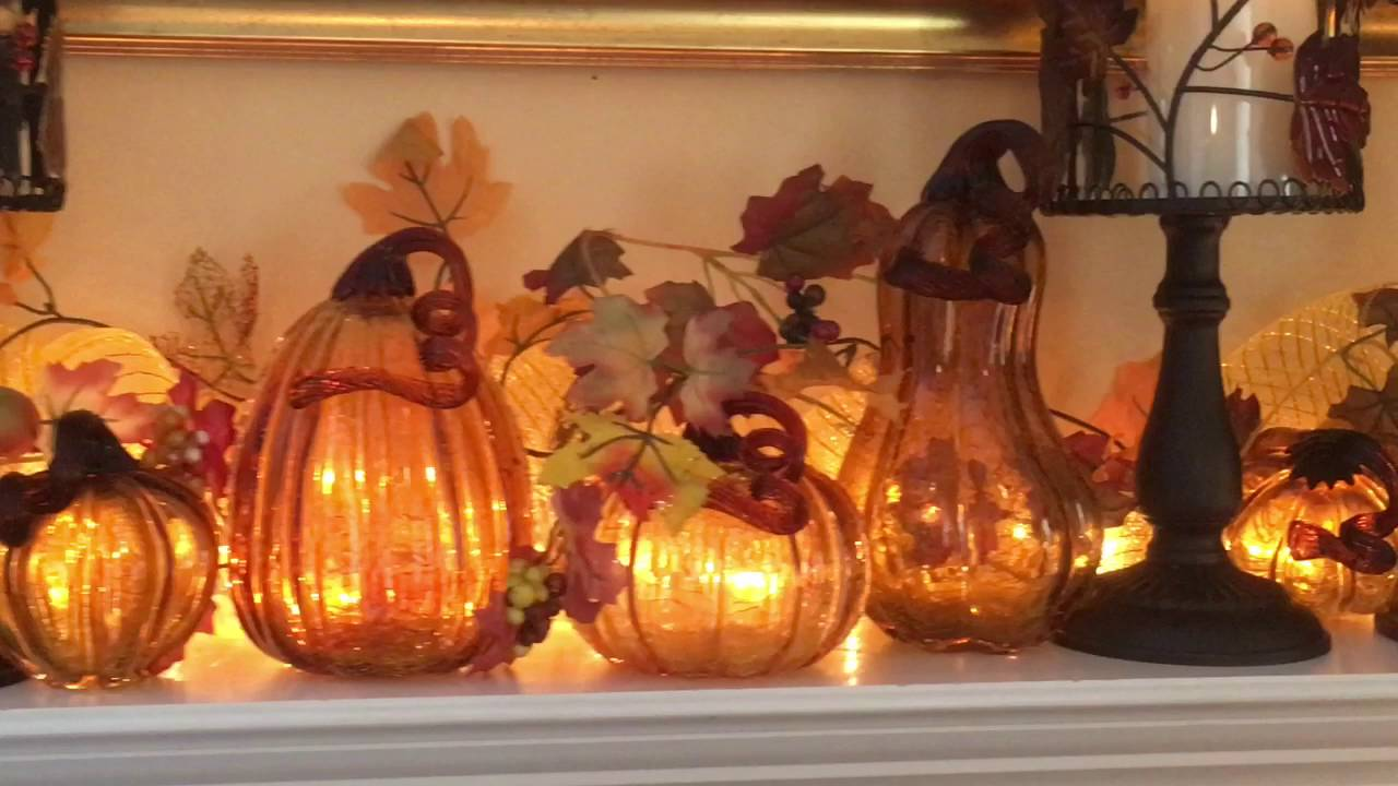 2016 fall home decor tour youtube - Fall Home Decor