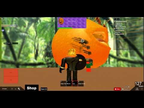 Roblox Annoying Orange Boss Battle - YouTube