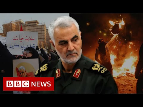 Iran's turmoil in two minutes - BBC News