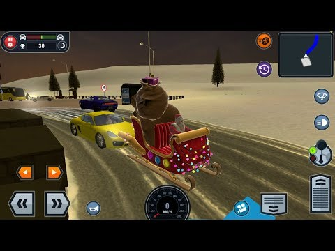 Sledge of Santa Claus - Driving School Simulator Android Gameplay #8