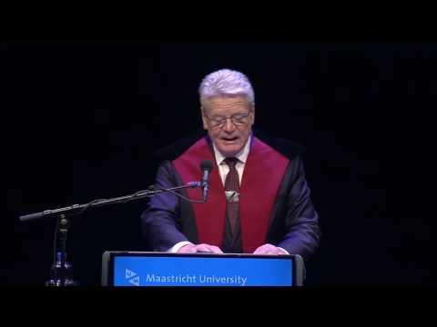 5. Dies Lecture Europe Calling - Joachim Gauck - Dies Natalis 2017