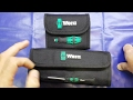 10 Minute tool review: Wera Kraftform Screwdrivers: Micro / Kompakt