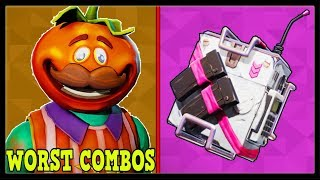 10 WORST SKIN + BACKBLING COMBOS In FORTNITE! (These Are So UGLY!)