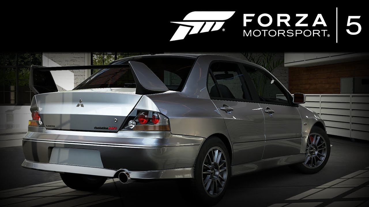 forza 5 mitsubishi lancer evo 8 mr 2004 forzavista 1 lap evolution viii youtube. Black Bedroom Furniture Sets. Home Design Ideas