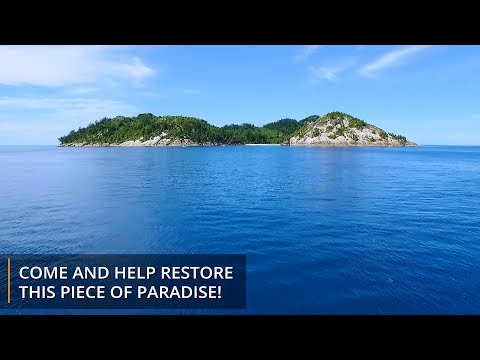 Conservation Work on North Island, Seychelles