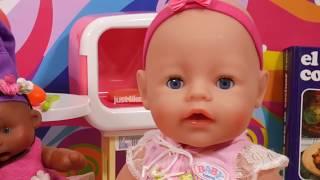 La bebé Martina comiendo una Fabada - Capítulo #47 - Vídeos de bebés