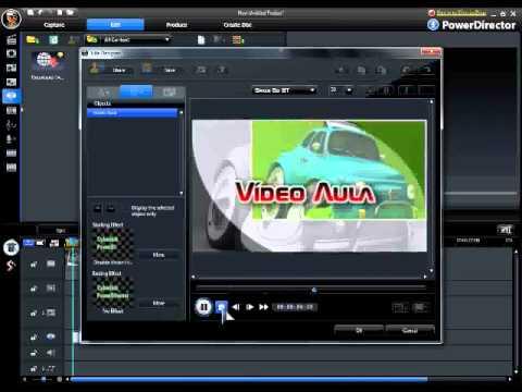 Vídeo Aula CyberLink PowerDirector - Criar Vídeo Com Fotos e Música