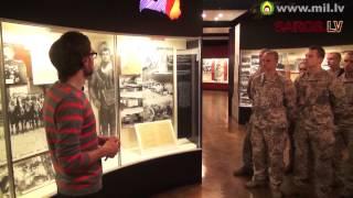 Kara muzeja lekcija aizsardzības akadēmijas kadetiem par Latvijas Brīvības cīņām 1.daļa