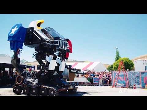 The making of the MegaBots' giant robot