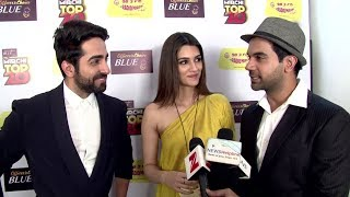 Ayushmann Khurrana, Kriti Sanon And Rajkummar Rao Funny Interview | Bareilly Ki Barfi Promotion