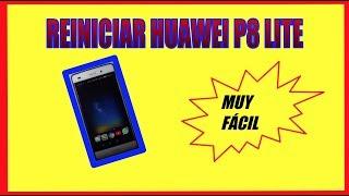 Comó reiniciar o resetear el celular Huawei P8 ó P8 lite Queda de Fabrica 🏓