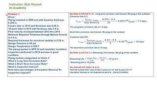API 570 Problem Solving sample