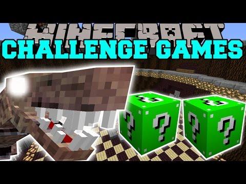 Minecraft: NASTYSAURUS CHALLENGE GAMES - Lucky Block Mod - Modded Mini-Game