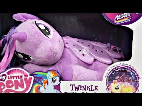 Twilight Sparkle - Twinkle Star Light / Świecący Pluszak - Rainbow Power - My Little Pony - 82612