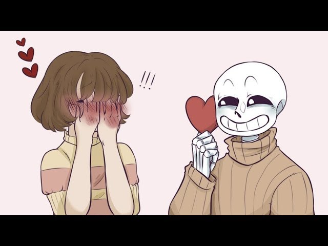 Frans happy valentines【 Undertale and Deltarune Comic Dubs 】