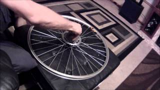 NO LOCK RING REMOVAL TOOL REQUIRED - MTB Freewheel Removal & Disassemble Using Common Tools