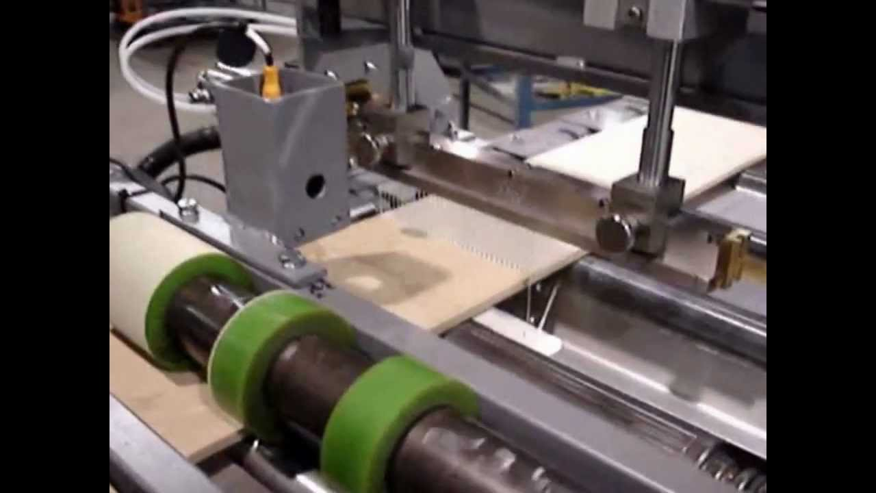 Automated Wood Glue Dispenser ~ Aec automatic glue applicator by doucet machineries youtube