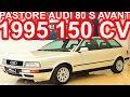 PASTORE Audi 80 S Avant 1995 Branca Madre P�rola AT4 FWD 2.6 V6 150 cv 22 mkgf #Audi