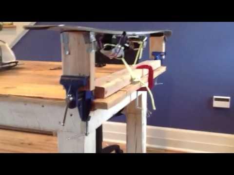 Ski Wax Bench Youtube