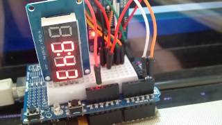 Arduino clock with DS3231 on TM1637 display (2)