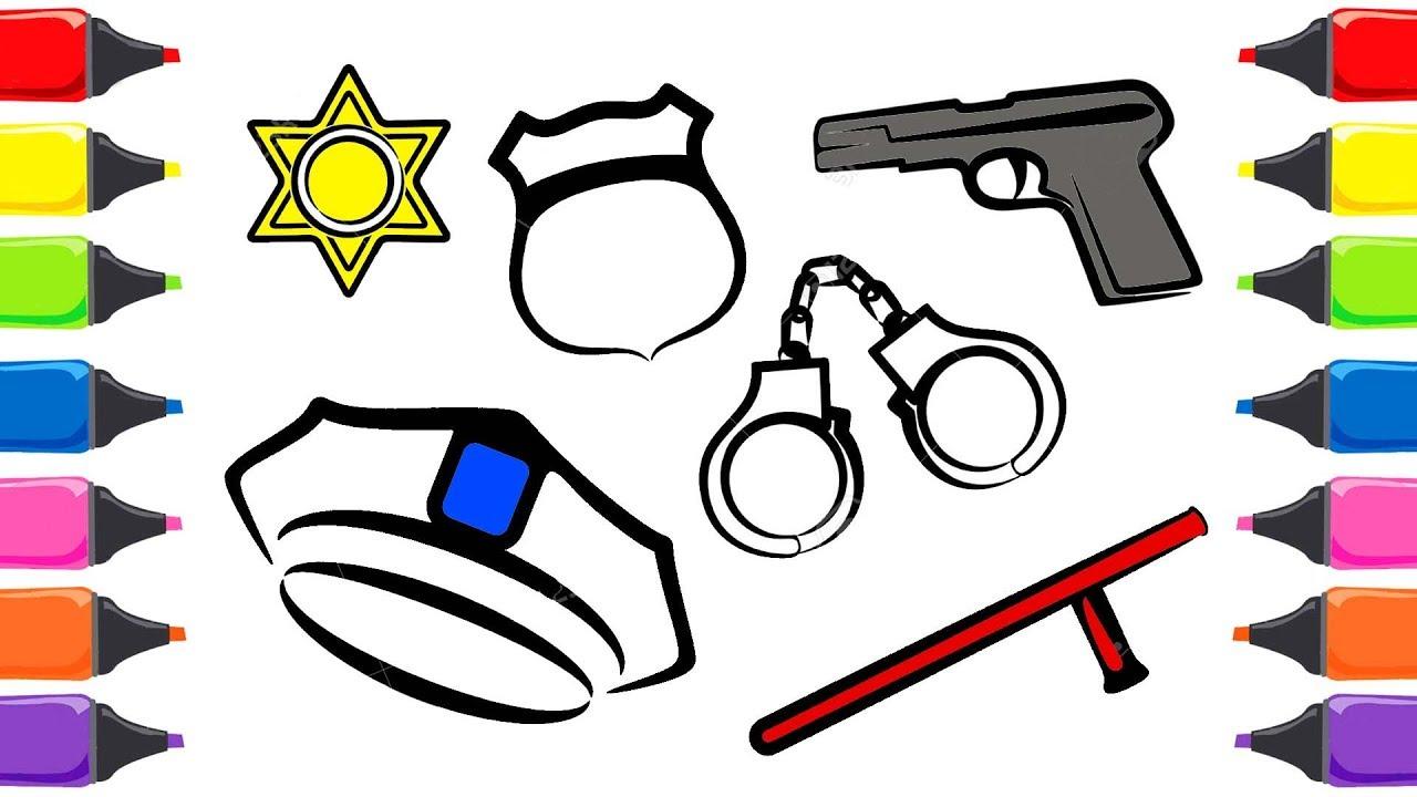 Polis Boyamasi Ust Ev Boyama Sayfasi