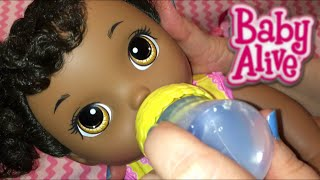 Night Routine with my Crawling Baby Alive Go Bye-Bye Doll, Sunny, with Joovy Play Room 2 Playpen