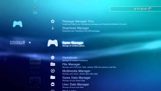 WIP (work in progress) XMBM+ XMB Manager Plus v1.00 RC9 - PS3 Homebrew