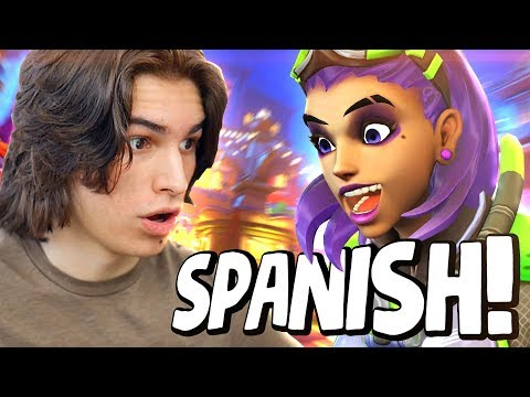 Playing Overwatch in Spanish!?