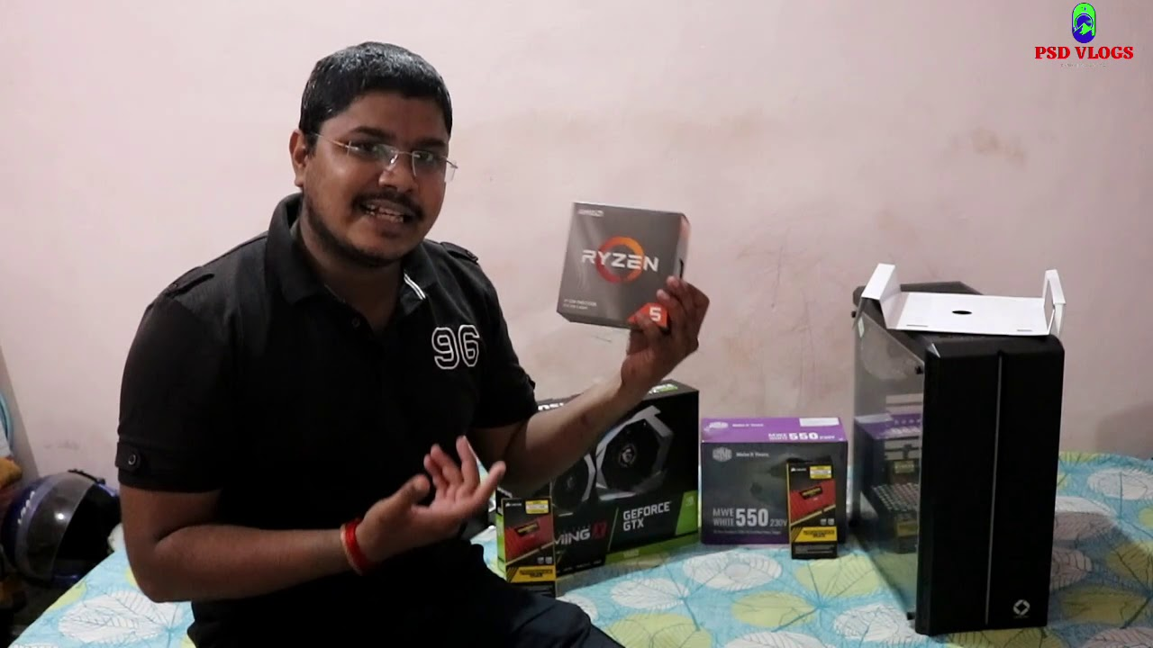 FIRST TIME BUILDING MY RS 60000 Gaming PC Build India 2020